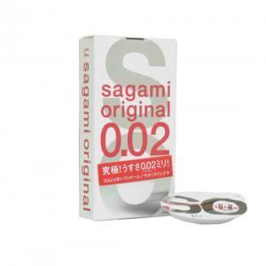 Bao cao su Siêu Mỏng: Bao Cao Su Siêu Mỏng Sagami 0.02
