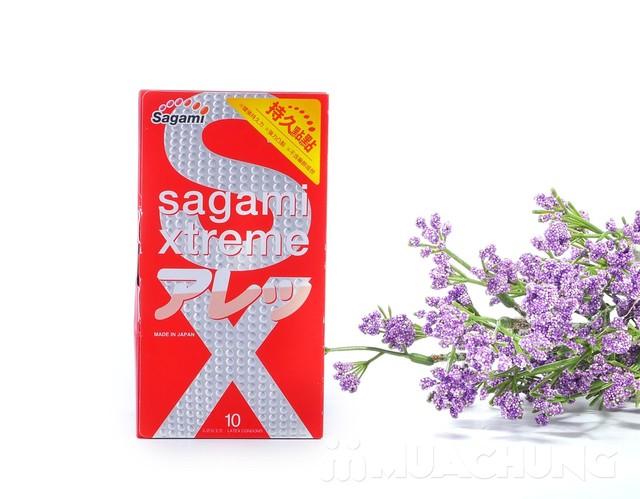 Bao cao su sagami - 6 lần lượn sóng