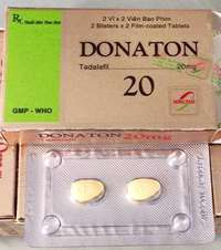 Thuốc Rối Loạn Cương Dương: Thuốc cường dương donaton 20mg