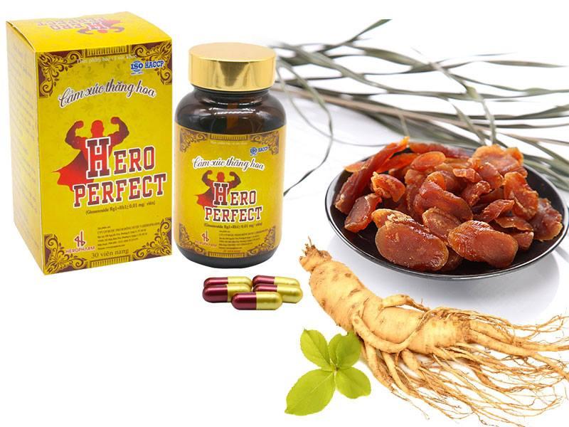 Hero Perfect tăng cường sinh lý nam giới