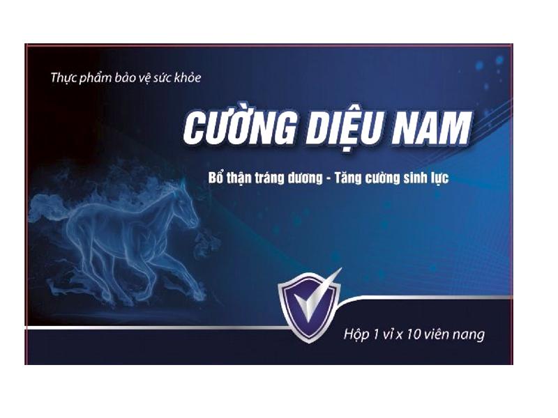 Thuốc Tăng Sinh Lý Nam: Cường Diệu Nam chữa yếu sinh lý nam