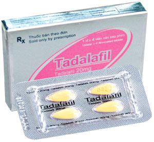 Thuốc Cho Nam Giới: Thuốc điều trị rối loạn cương dương Tadalafil 20mg