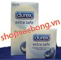 Bao cao su Cao cấp: Bao cao su cao cấp Durex Safe