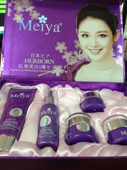 Mỹ Phẩm Cho Phụ Nữ: Bộ mỹ phẩm Meiya - Chính Hãng Nhật Bản