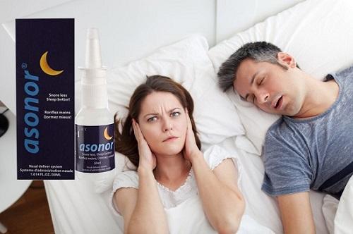 Thuốc Asonor chữa ngáy ngủ cho cả nam và nữ