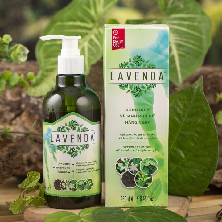 Dung dịch vệ sinh lavenda cho nữ