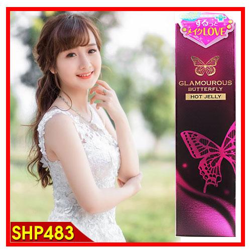 Gel bôi trơn gốc silicon Butterfly của Nhật