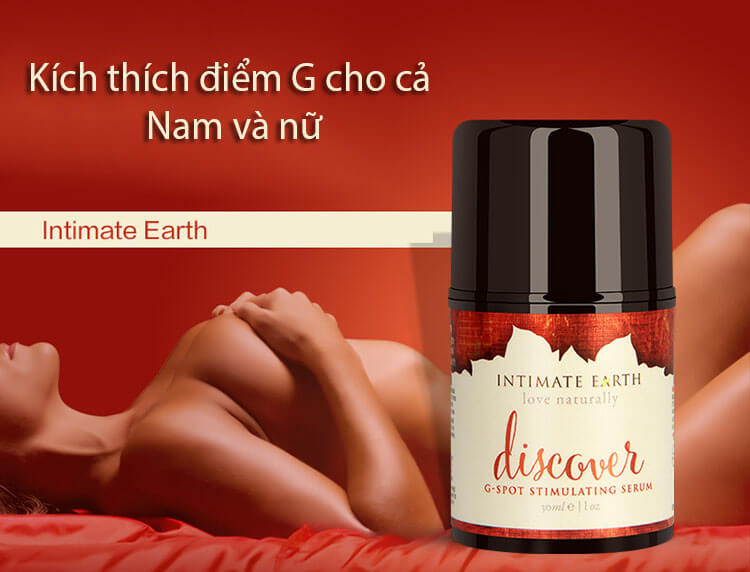 Gel bôi trơn Intimate Organics Discover G tăng khoái cảm cho nữ