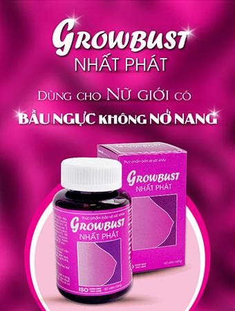 Thuốc làm nở ngực growbust nhất phát