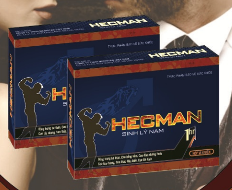 Thuốc Hecman tăng sinh lý nam