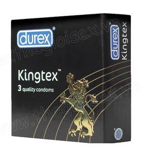 bao cao su, Bao cao su giá rẻ Durex Kingtex