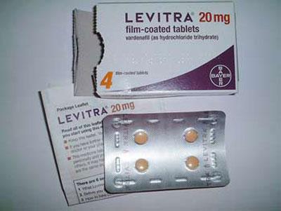 Thuốc levitra tăng sinh lý nam