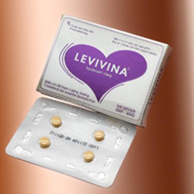 Levina 10mg chữa rối loạn cương dương