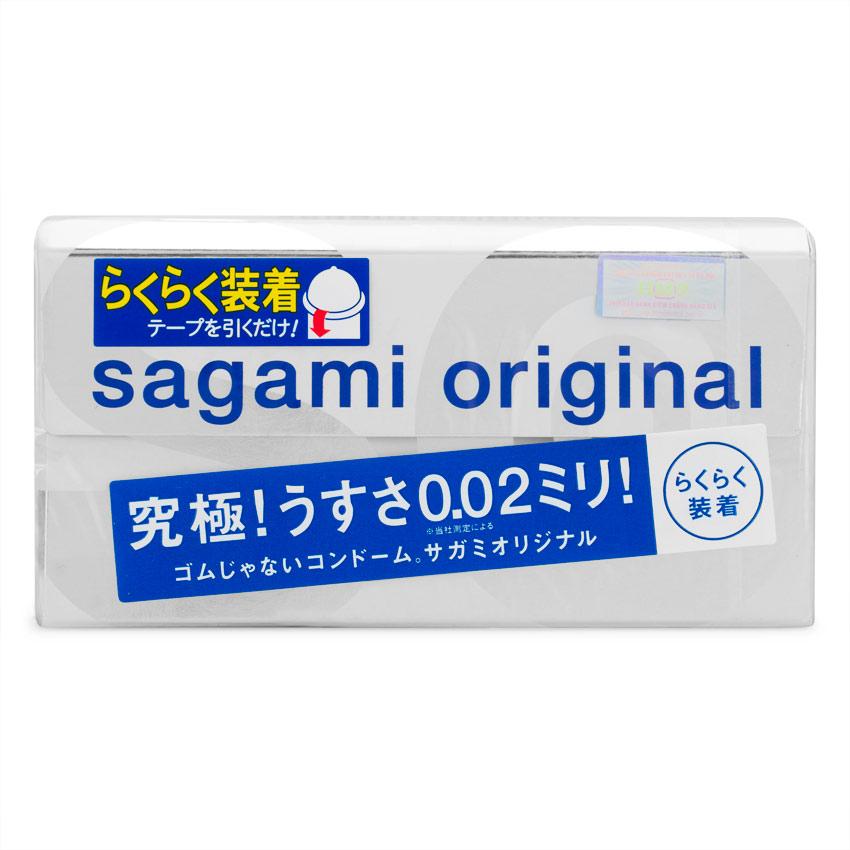 Bao Cao Su Sagami: Bao cao su sagami original 0.02