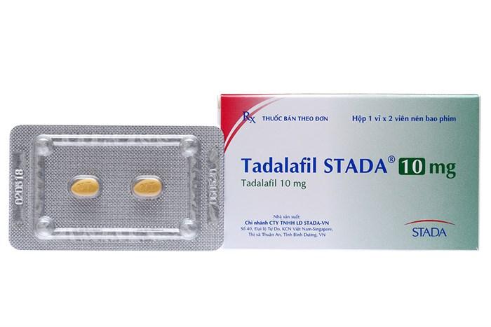 Tadalafil stada 10mg tăng sinh lý nam