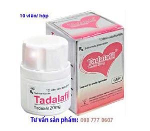 tadalafil, Tadalafil 20mg điều trị rối loạn cương dương