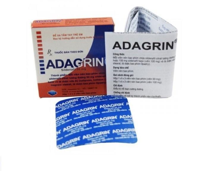 Adagrin cho nam yếu sinh lý