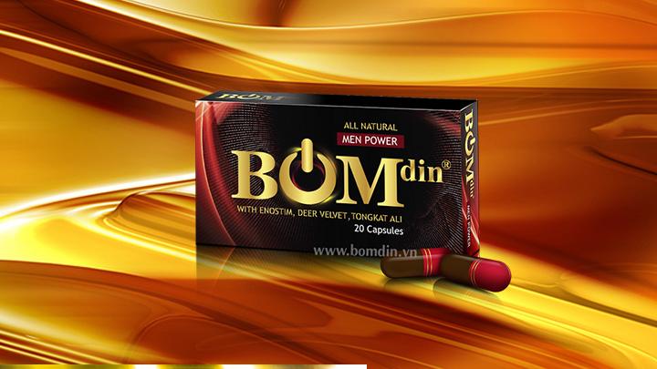 Thuốc Yếu Sinh Lý Nam: Thuốc tăng cường sinh lực BOMdin