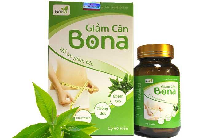 Thuốc giảm cân Bona cho nữ