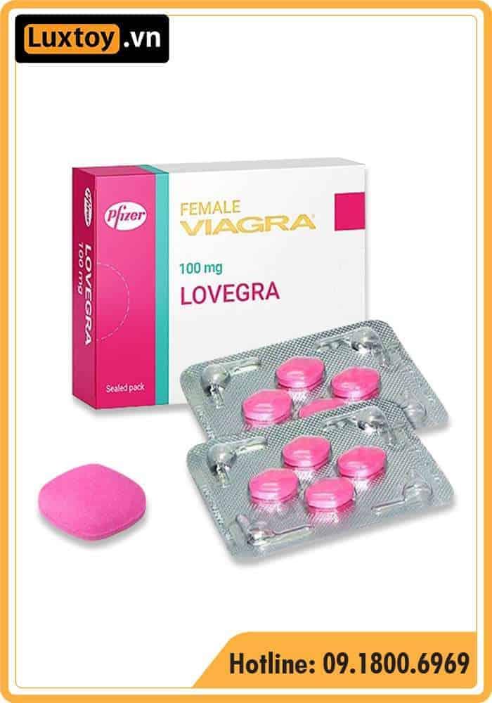 Thuốc tăng sinh lý viagra cho nữ
