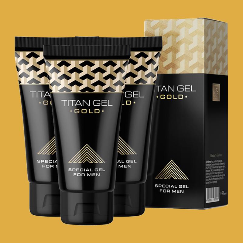 Gel titan gold tăng cường sinh lý nam
