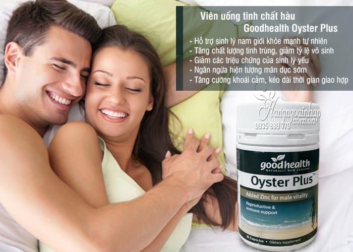 Oyster Plus tăng sinh lý nam