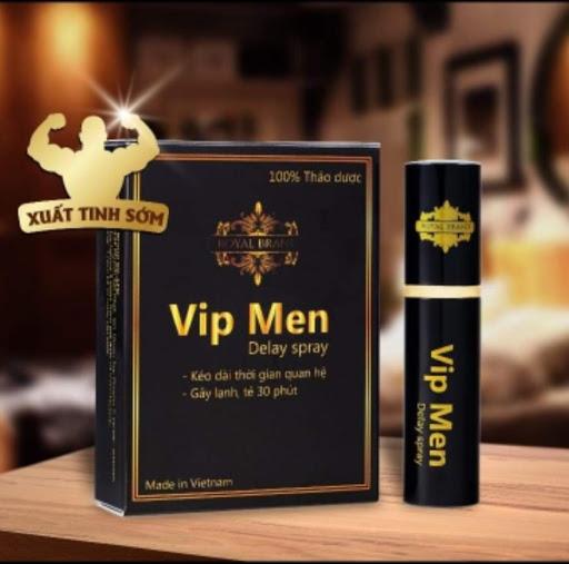 Thuốc xịt Vip Men kéo dài quan hệ cho nam