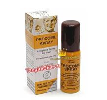 Thuốc xịt lâu ra tinh trùng - Procomil spray chơi lâu ra nhất